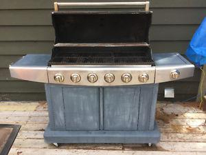 6 Burner Natural Gas BBQ