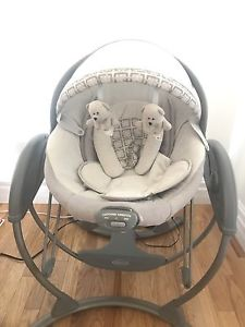 6 Speed Power Baby Swing w/ Music