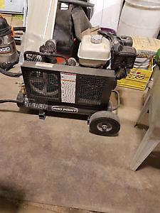 Air Compressor & Air Tool Set
