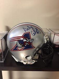 Anthony Calvillo autographed mini helmet for sale