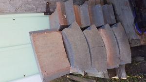 BBQ Firepit Bricks/Blocks 14 in good shape $40