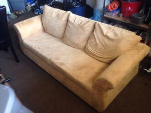 Beige Couch (Bought at The Brick)