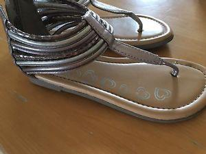 Brand new girls size 12 sandals