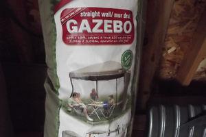 Gazebo frame and nettting