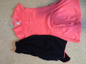 Girls Gymboree dress and matching cardigan