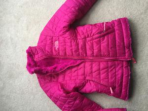 Girls North Face Reversible Winter Jacket size 8