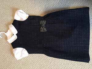 Girls Osh Kosh dress and Gymboree shirt size 8