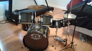 Junior Size Drum Set