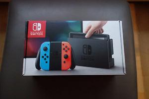 Neon Nintendo Switch *Brand New*