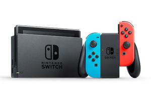 Nintendo Switch (Grey + Blue/Red) Brand New Unopened w/