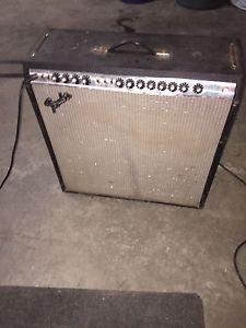 Old fender super reverb amp
