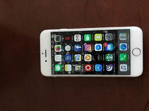 Silver iPhone 6 64gb locked to rogers. Excellent condition