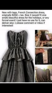 Size 2 French Connection Formal Dress NWT