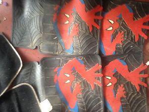 Spider man car mats