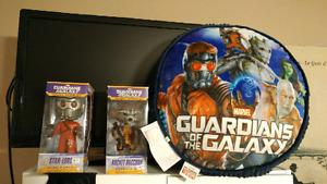 Starlord and Rocket Bobbles and Pillow