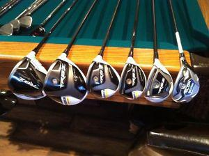 Taylormade Drivers, Fairway and Hybrids with Tour Shafts