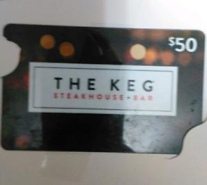 The Keg Gift