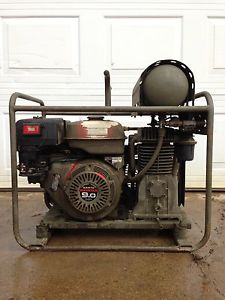 Used 3 hours. Portable air compressor