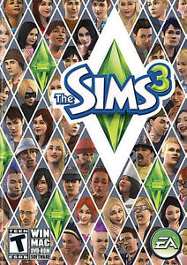 Various Sims 3 Expansion Packs and Base Game