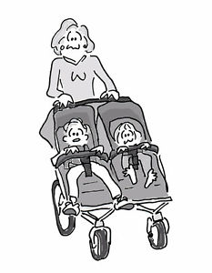 Wanted: Looking for a double stroller at a resonable price!