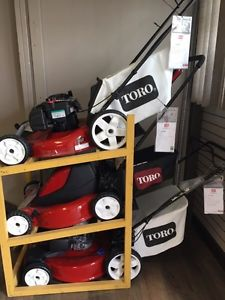 We're full of Toro Mowers and They're all on Sale