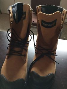 Work Boots never worn/ Reebok trainers