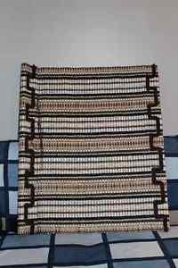 Woven Wooden Window Blind with Valance