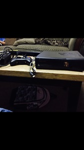 Xbox 360 with Kinect & 10 games