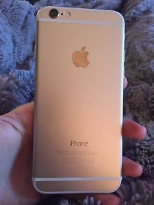 iPhone 6 64gb gold on