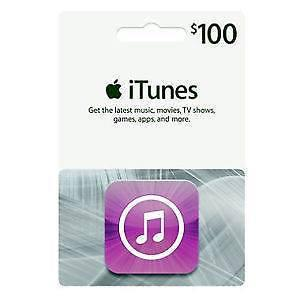 iTunes 100$ GIFT CARD