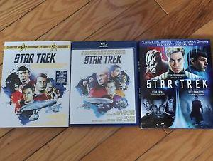 13 STAR TREK movies on Blu-ray