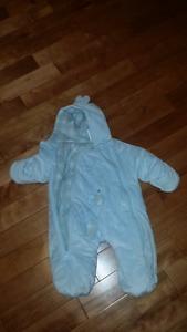 2 Winter Jackets (3-6 months)