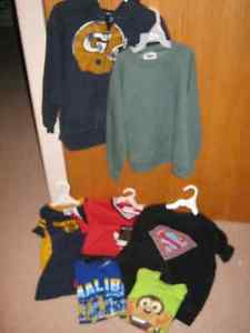 3 boys clothing pieces size 6-7 items for one price