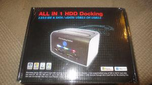 "All in 1 HDD Docking Hard drive dock "" Drives."