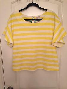 Anthropologie striped shirt size medium