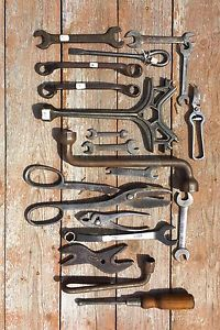Antique farm tools