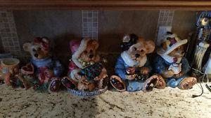 Boys Bear Cookie Jars