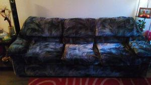 Comfy couch & chair set