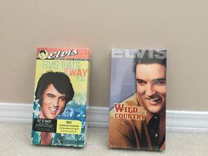 Elvis. Vhs tapes. (NEW)