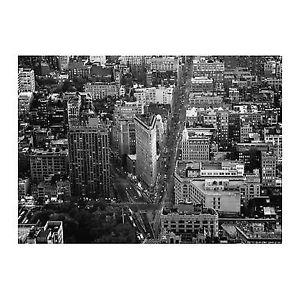 """Flatiron Building NYC"" IKEA Premiar B&W Canvas Wall Print"