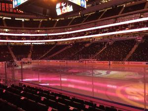 GAME 3 - Club Seats - Oilers vs. Ducks - April  @