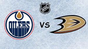 Game #3 - Ducks at Oilers