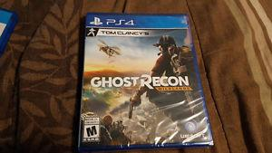 Ghost Recon Wildland PS4 brand new *sealed*