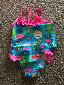 Girls size 2 swim suits
