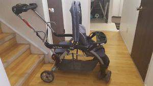 Graco double stroller sit and stand