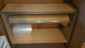 Heavy Duty Kraft Brown Paper Wrap Dispenser/Cutter