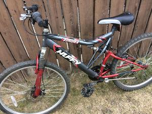 Huffy 21 speed mountain bike, (26 Inch tires)