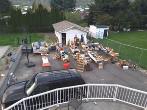Huge garage sale a valleyview dr