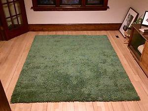 IKEA SKARUP rug, discontinued green