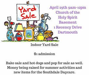Indoor Yard Sale Dartmouth